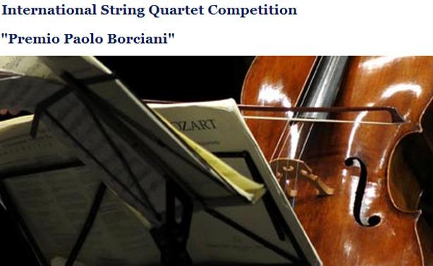premio paolo borciani string quartet comp new