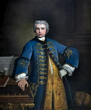 Portrait of Farinelli by Bartolomeo Nazari (1734)