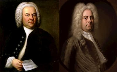 Bach and Handel, two prominent composers in the Baroque period