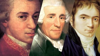 Mozart, Haydn and Beethoven