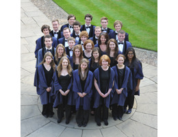 In touch with the Caius College Choir