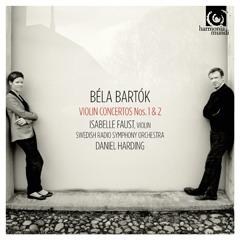 Isabelle Faust, Swedish Radio Symphony ... - Bartók Violin Concertos No 1 & 2 - Artwork