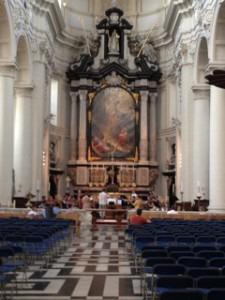 Saint-Walbaurgakerk in Bruges