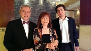 With Van Cliburn Winner Kholodenko 2013