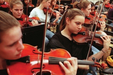 Fresh strings to their bows: music graduates are starting their own ensembles as work for orchestras is harder to come by. Source: GETTY