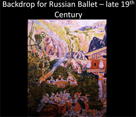 MUSIC AND THE ARTS OF 19th AND 20th RUSSIA