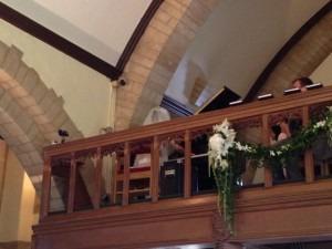 Bride at the Piano!