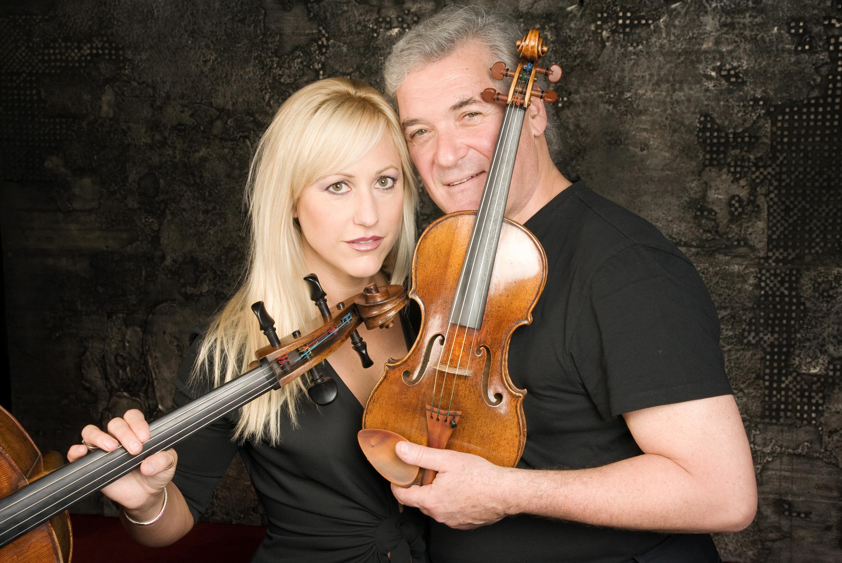 Pinchas Zukerman and Amanda Forsyth Credit: TonyHauser
