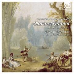Arcanto Quartett and Jörg Widmann - Mozart Clarinet Quintet - Artwork