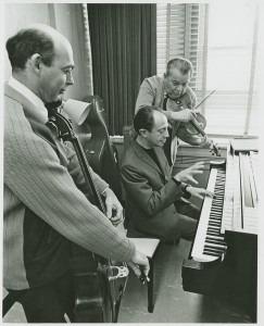 Janos Starker, Gyórgy Sebök and Josef Gingold