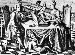 Johann Sebastian and Anna Magdalena