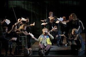 Die Zauberflöte, 2012 December 2012, The Netherlands Opera. Dir Simon Mc Burney, Cond Marc Albrecht. credit: H en C Baus