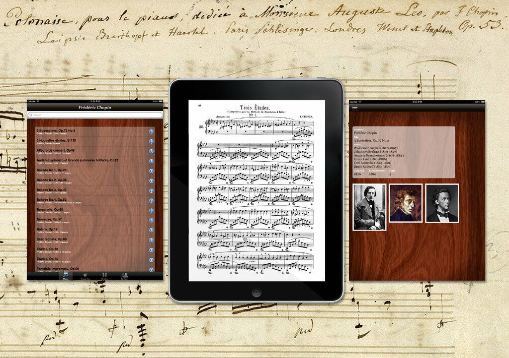Chopin Piano App