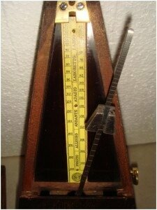 metronome close up