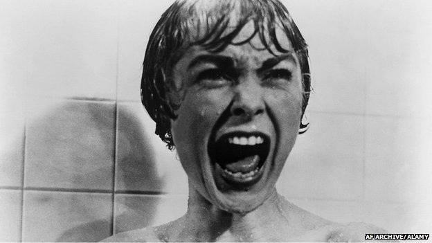 The jabbing notes in Psycho's shower scene trigger the same response as the sound of screaming animals