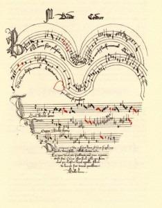 Baude Cordier Heart