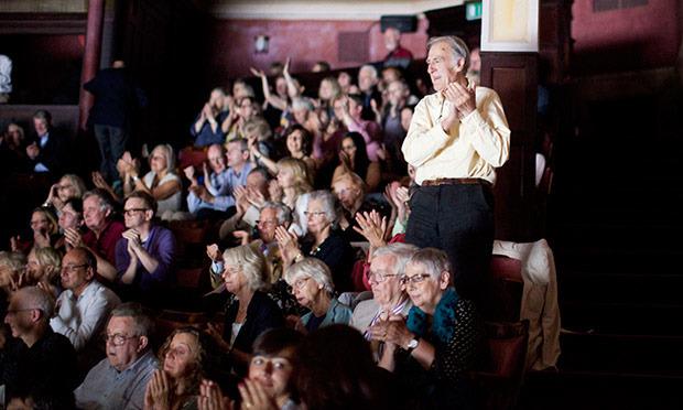 This year's Edinburgh international festival audience turned out to be a noisy lot. Photograph: Stuart Armitt/EIF