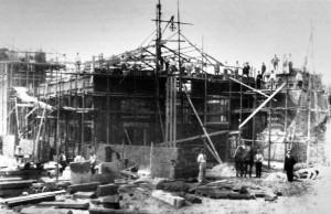 1885 Concertgebouw in Aanbouw