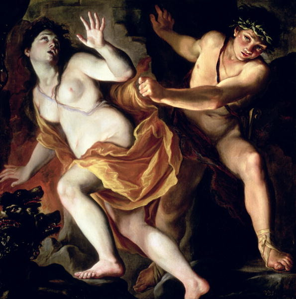 Burrini: Orpheus and Eurydike