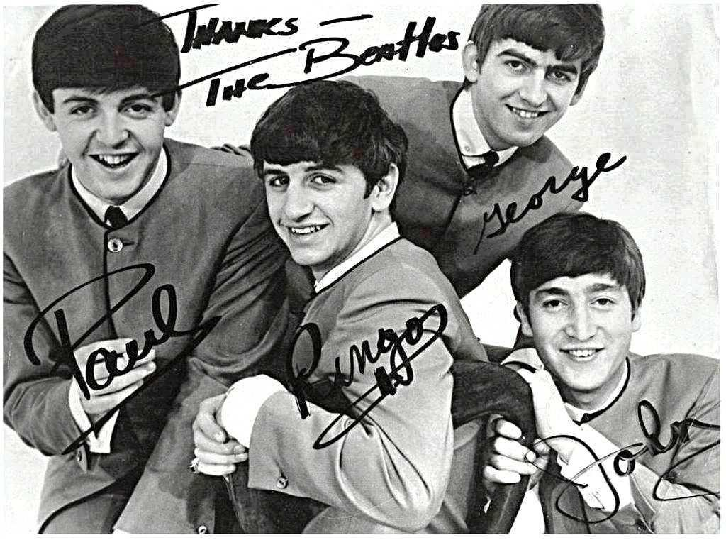 The Beatles Credit: http://thewallpaperszone.com/