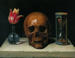Philippe de Champaigne: Still-Life with a Skull (ca. 1671)