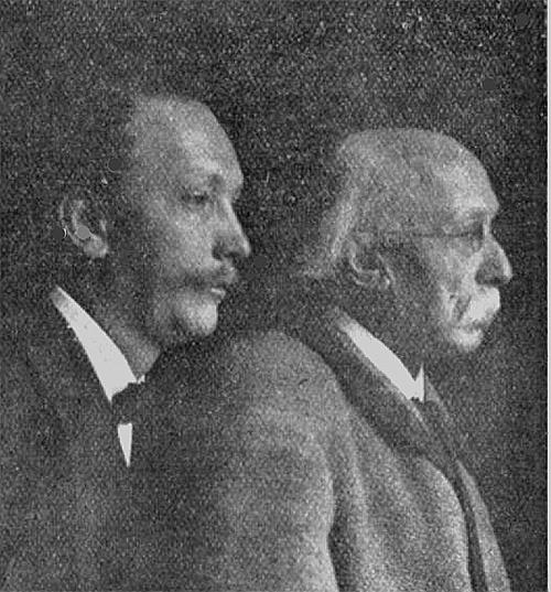 Franz and Richard StraussCredit: Wikipedia