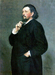 Portrait of M. P. Belyayev by Ilya Repin (1886)