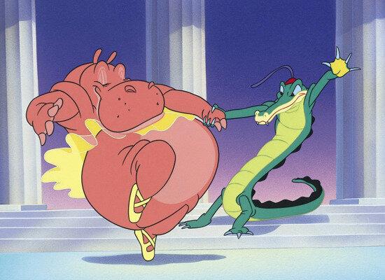 Fantasia : Dance of the HoursCredit: http://blogs.whatsontv.co.uk/