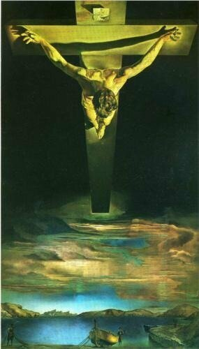 Dali : Christ of Saint John of the CrossCredit: http://www.wikiart.org/
