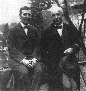 Richard Strauss and Hugo von HofmannsthalCredit: paulthomasonwriter.com
