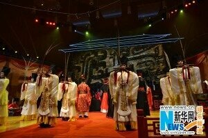 Ancient Chinese ritual music performances are presented during the 5th Beijing Traditional Music Festival held in early October. [Photo: xinhuanet.com]