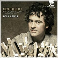 Paul Lewis - Schubert The Late Piano Sonatas - Artwork