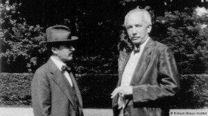 Richard Strauss and Hugo von HofmannsthalCredit: http://www.dw.de/