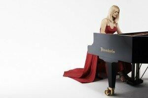 Classical pianist Valentina Lisitsa. (Gilbert Francois)