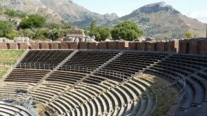 Greek theatre used music with the drama. But what did it sound like?