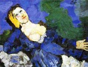 1919_frau-in-blau