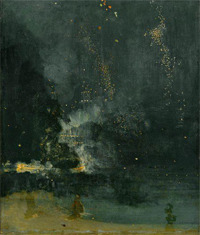 Nocturne in Black and Gold (1874)