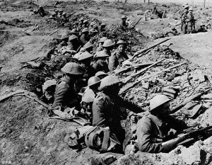 The Battle of the Somme Credit: www.dailymail.co.uk