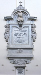 Inside the Holy Cross Church where Chopin's heart residesCredit: http://www.newyorker.com/