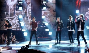 One Direction, one of many modern bands whose popularity draws a lot of criticism (and web traffic). Photograph: Getty Images