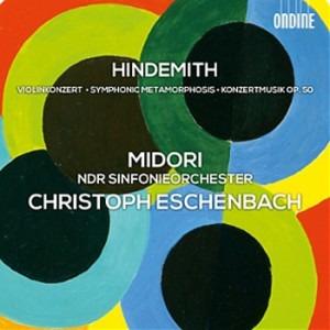 Hindemith violinconcert symphonic metamorphosis CD