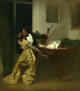 Kreutzer Sonata by René François Xavier Prinet