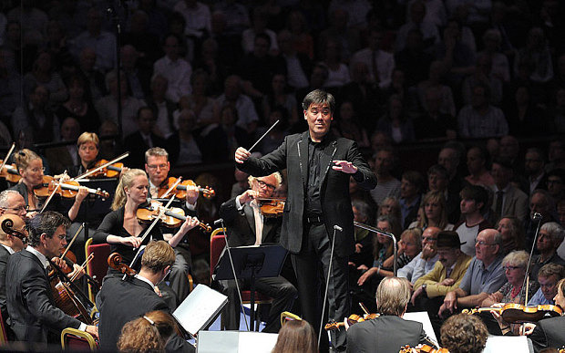 Alan Gilbert and the Leipzig Gewandhaus Orchestra at the PromsCredit: BBC