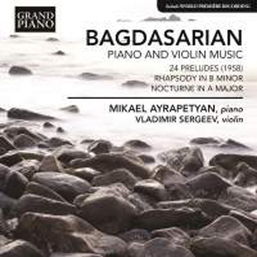 Bagdasarian Piano and Violin Music