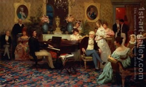 Chopin-Playing-The-Piano-In-Prince-Radziwills-Salon,-1887