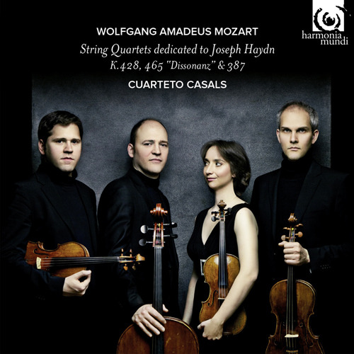 Cuarteto Casals - Mozart String Quartets dedicated to Joseph Haydn - Artwork