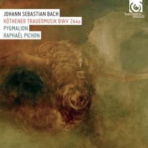 Ensemble Pygmalion and Raphaël Pichon - J S Bach Köthener Trauermusik BWV 244a - Artwork