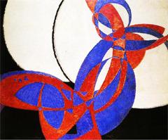 Frantisěk Kupka - Amorpha, Fugue à deux couleurs (1912)