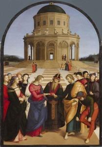 Raphael: The Marriage of the Virgin (Lo Sposalizio)