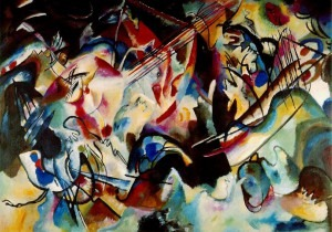 Vasily Kandinsky - Composition VI (1913)